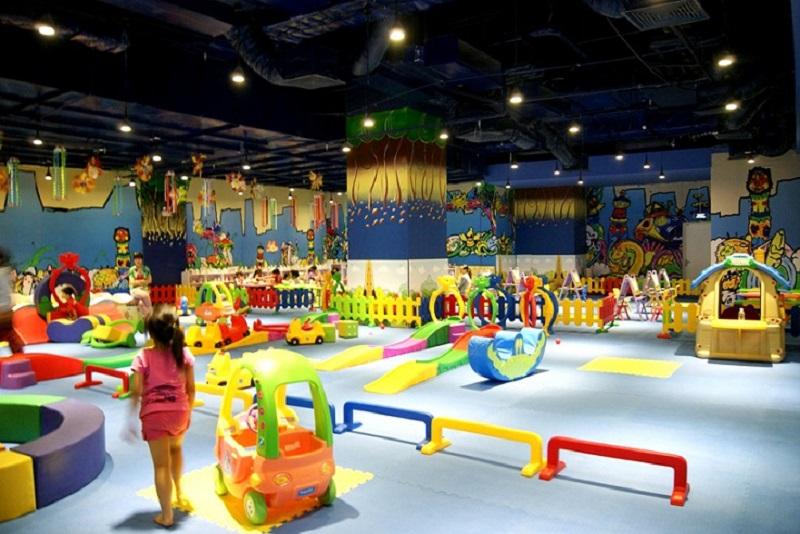 Mô hình vui chơi giải trí đa dạng tại Vietopia