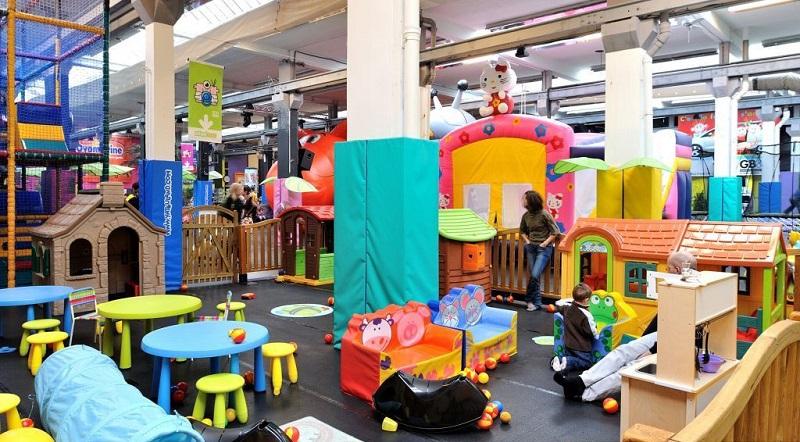 Khu vui chơi Poroland thích hợp cho các bạn nhỏ từ hơn 1 tuổi - 6 tuổi