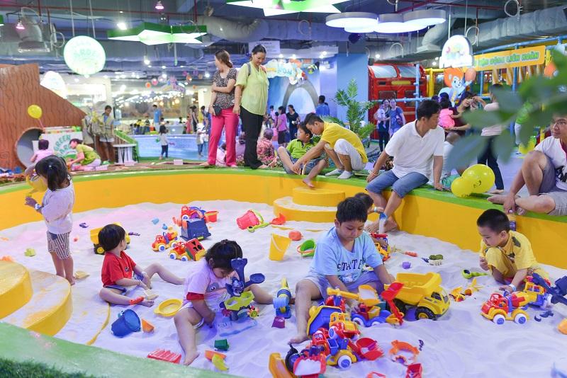 Không gian vui chơi của Kidsyard