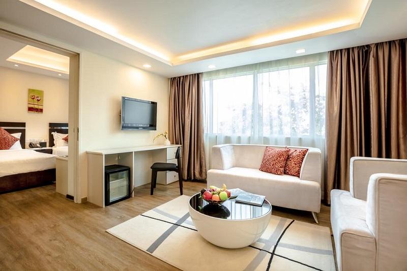 Nội thất bên trong Link Hotel Singapore