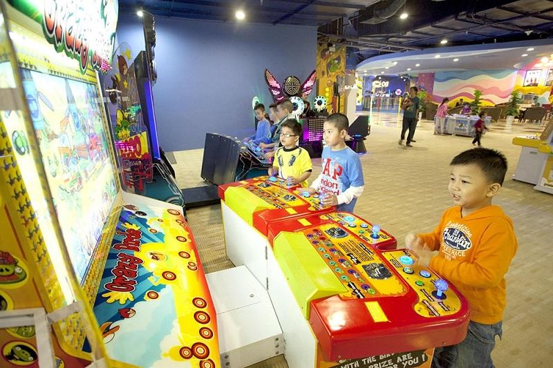 Các bé có thể tham gia các trò chơi trí tuệ