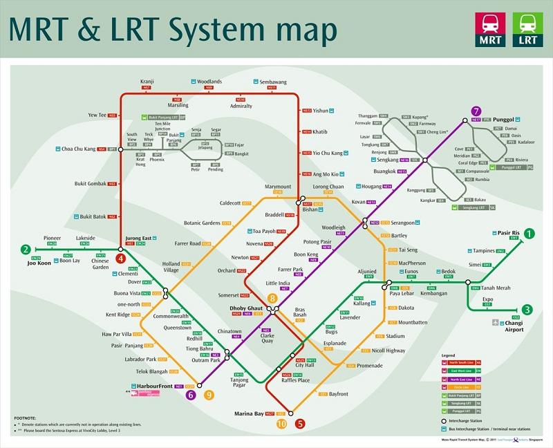 bản đồ Tàu Điện Ngầm Thái Lan