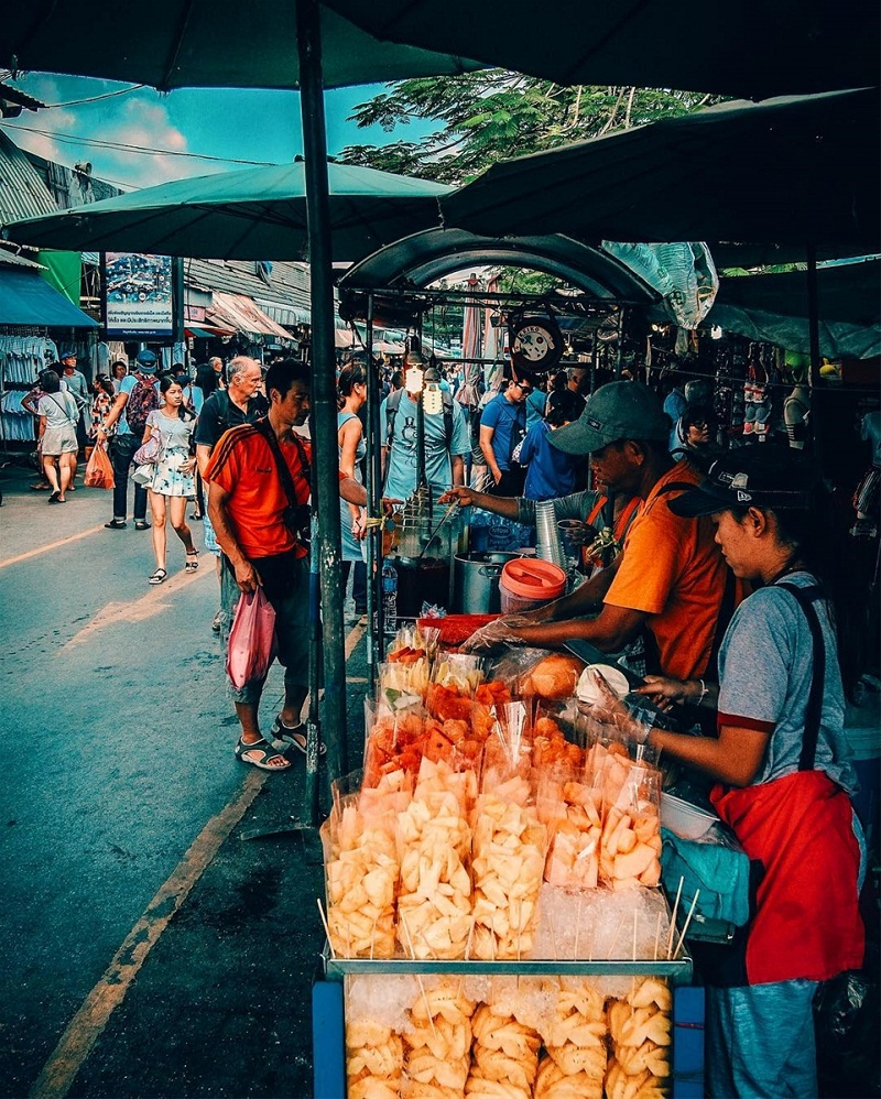 chợ chatuchak thứ 6