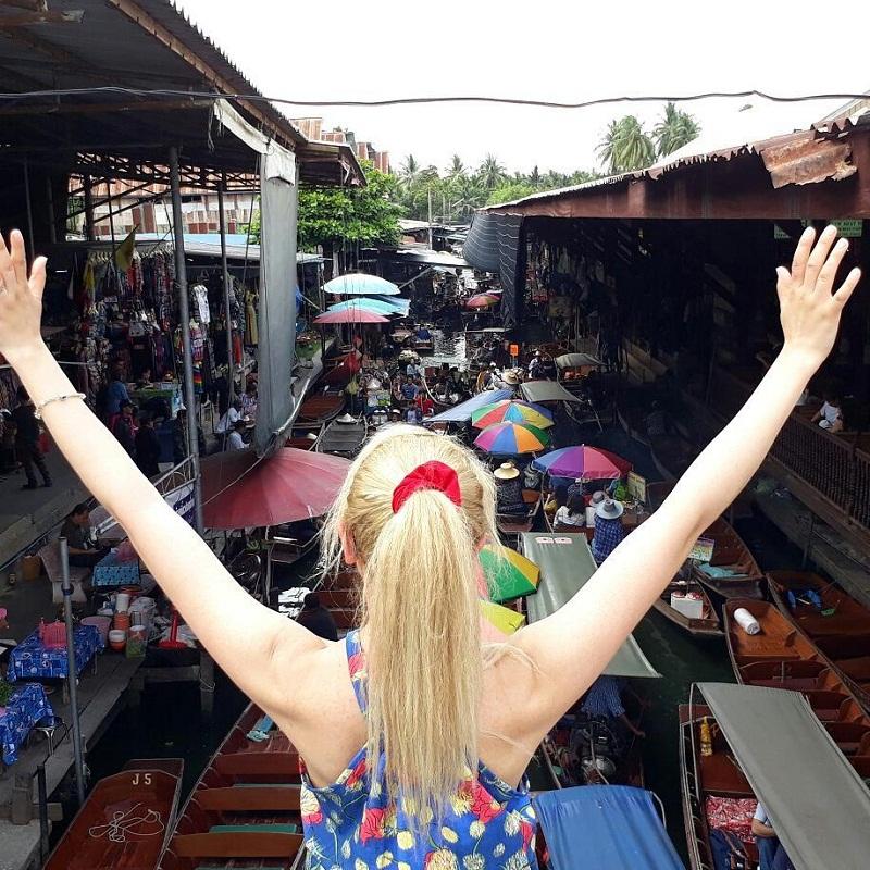 chợ nổi 4 mùa Pattaya
