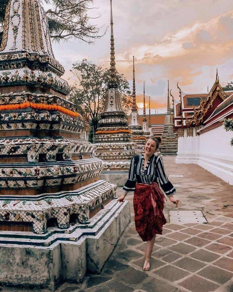 chùa nổi tiếng ở thái lan