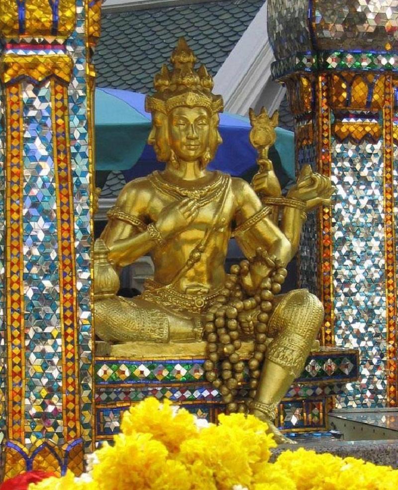 chùa phật 4 mặt thái lan