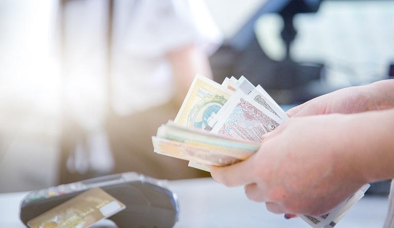 Đổi tiền ngoại tệ ở ngân hàng