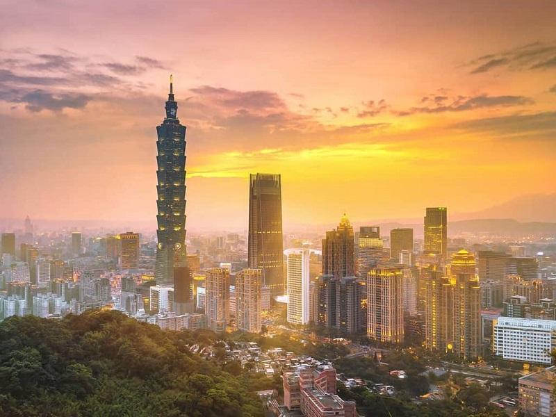 Đài Loan nổi tiếng với những tòa nhà cao chọc trời