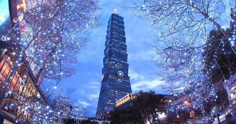 Tòa nhà Tapei 101 cao thứ 2 thế giới