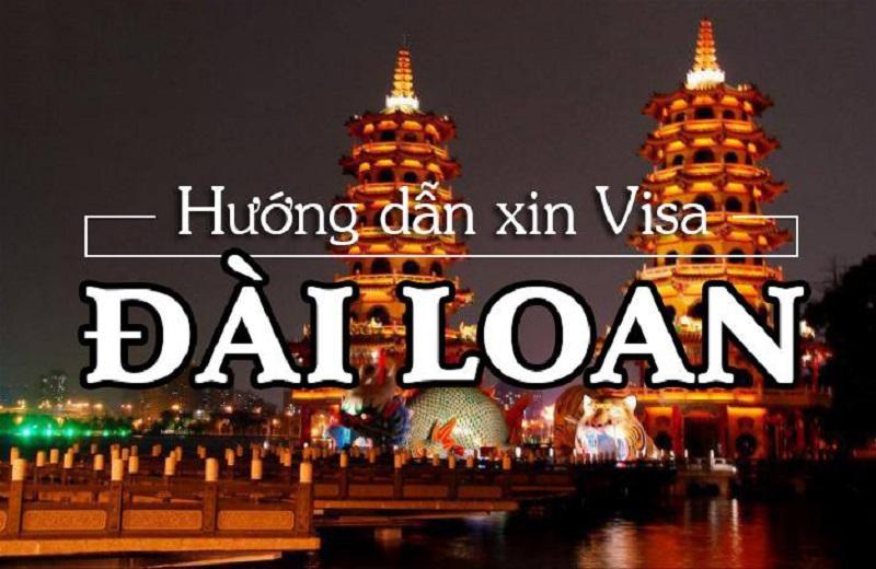 Hướng dẫn xin visa Đài Loan