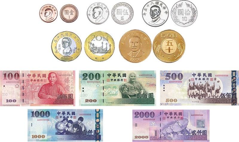Các mệnh giá tiền Đài Loan