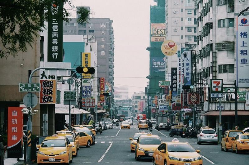 Đường phố ở Đài Loan thường không bị kẹt xe