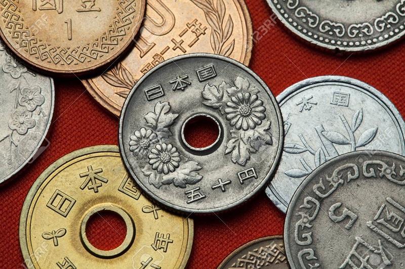 Các loại tiền xu của Nhật
