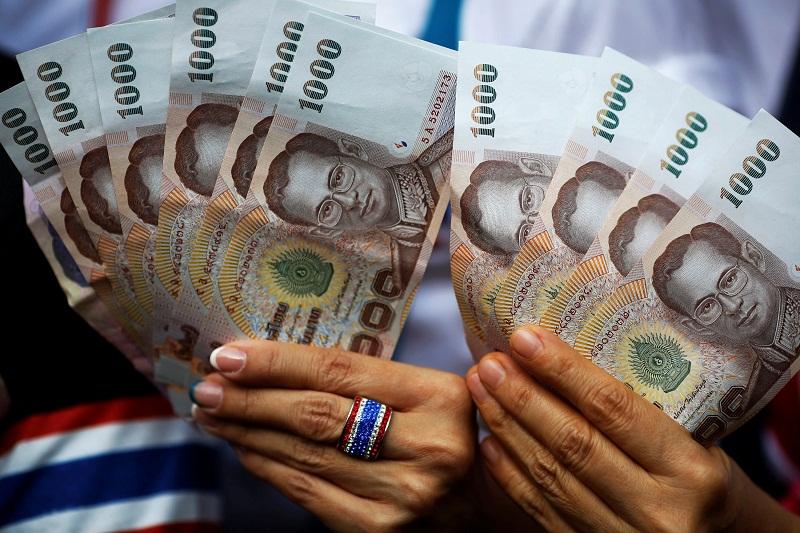 tiền 1000 baht Thái Lan