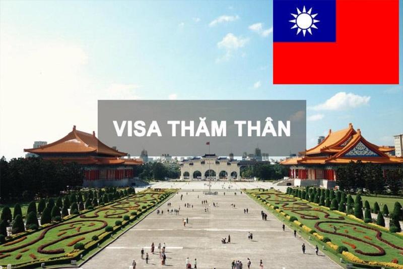 Thủ tục làm visa thăm thân đi Đài Loan