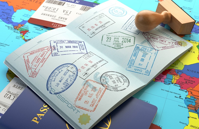 Dấu giáp lai chứng nhận xin visa đi Đài Loan