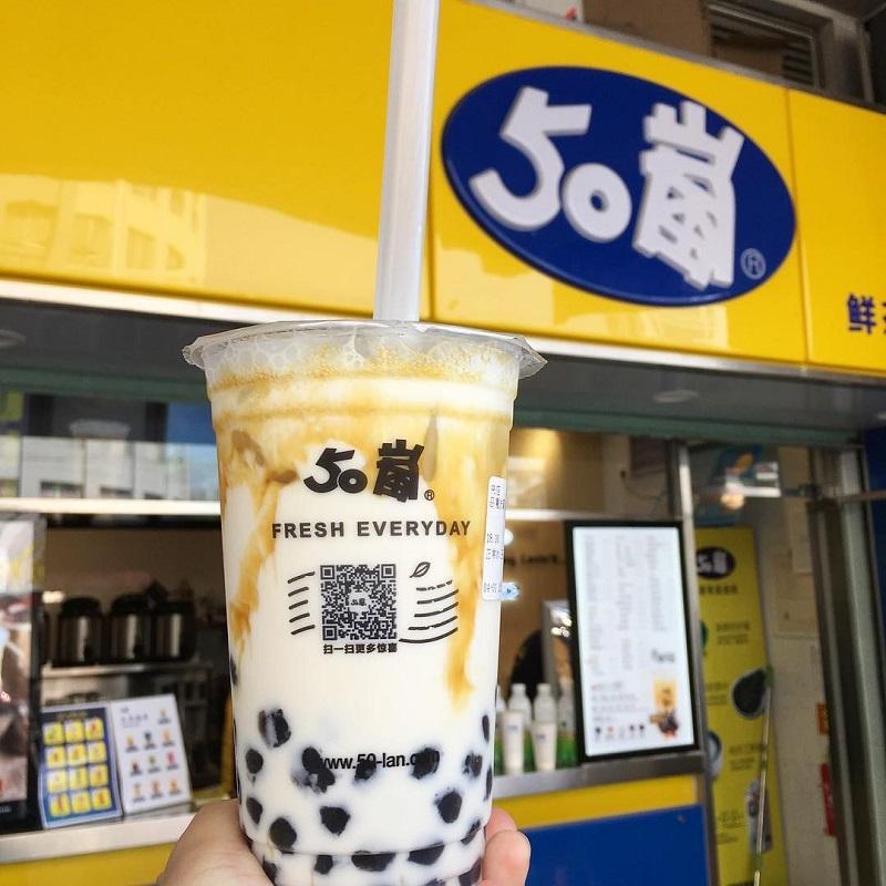 50 Lan là một thương hiệu trà sữa lâu đời ở Đài Loan