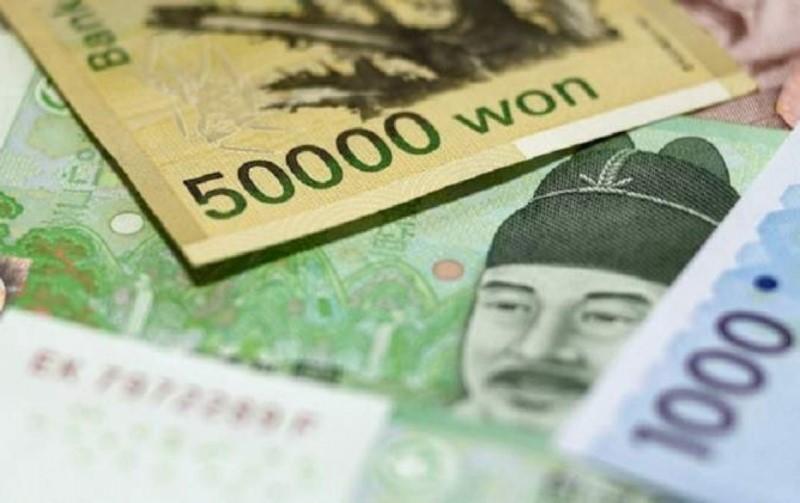 các mệnh giá tiền won Hàn Quốc