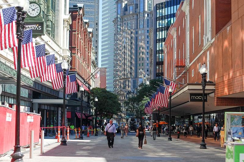 downtown và uptown