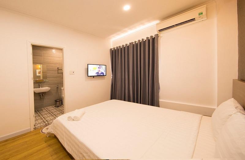Phòng ngủ bên trong khách sạn Đồi Dừa Vũng Tàu