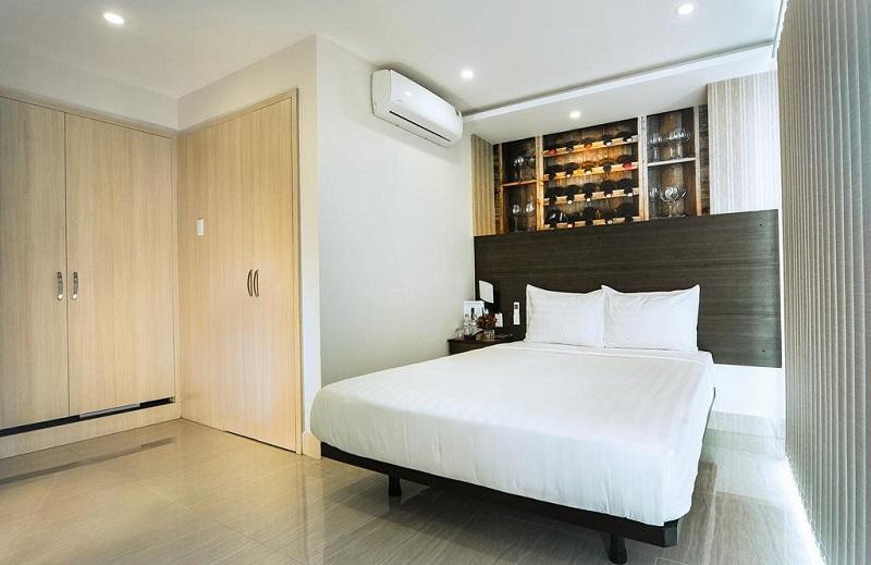 Không gian phòng ngủ của Duy Ninh Hotel Vũng Tàu