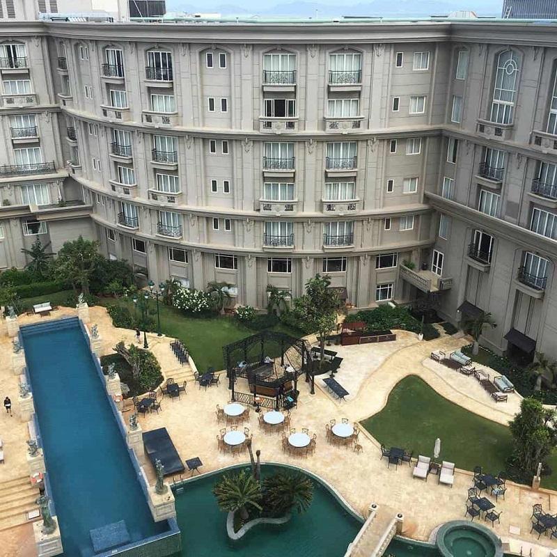 Kiến trúc độc đáo của khách sạn Imperial Vũng Tàu nhìn từ trên cao