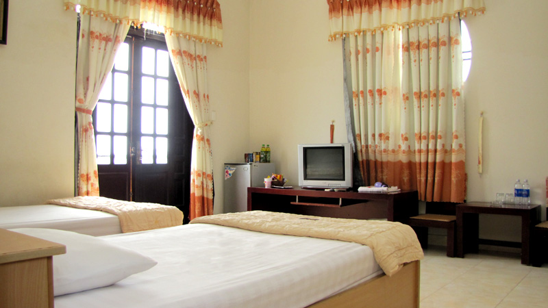 Không gian phòng ngủ của khách sạn Phương Nam Vũng Tàu