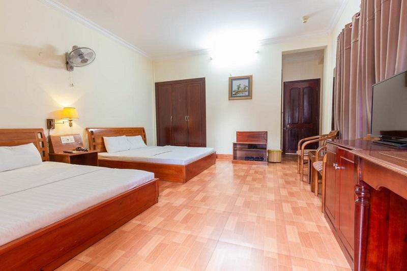 Không gian phòng ngủ ở Thanh Bình HotelVũng Tàu