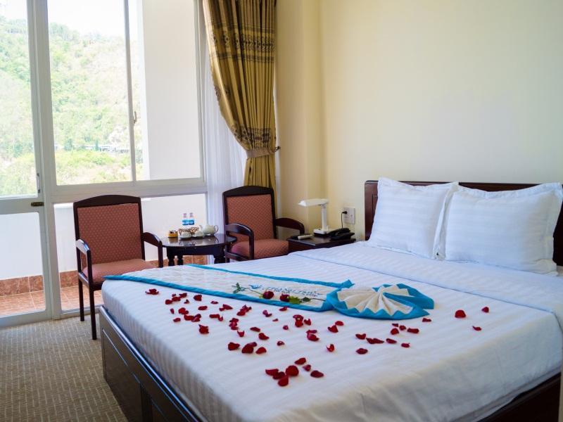 Một góc phòng ở khách sạn Thanh Thủy Vũng Tàu