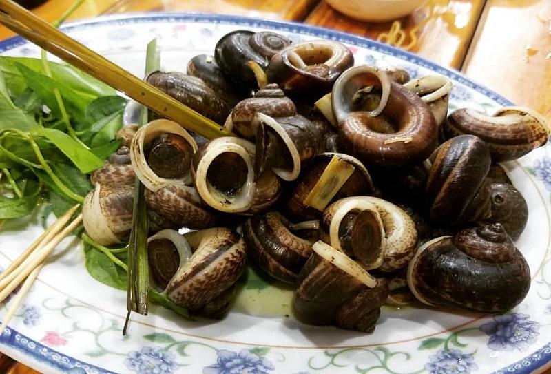 Ốc núi Ninh Bình là gợi ý phù hợp cho ăn gì ở Ninh Bình