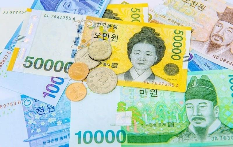 Tiền giấy và tiền xu Hàn Quốc