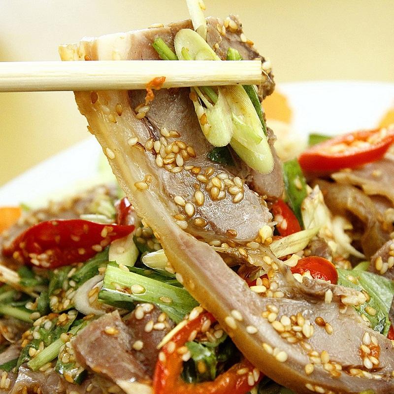 Món thịt đê là đặc sản của Ninh Bình