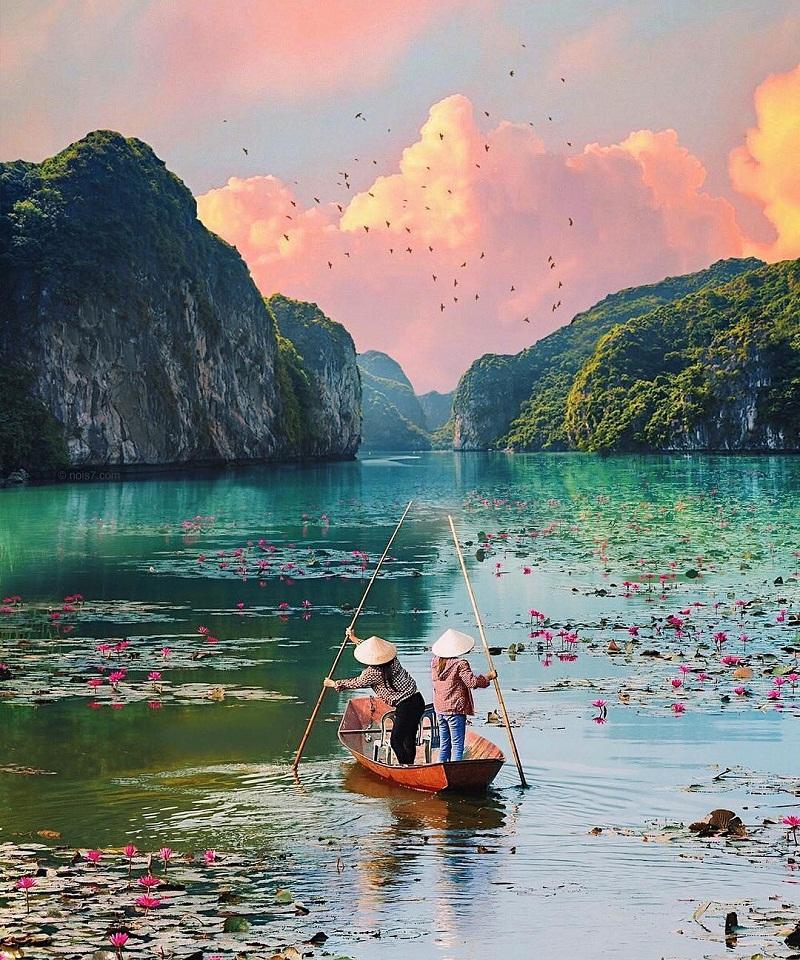 Những hang động xanh ở Ninh Bình