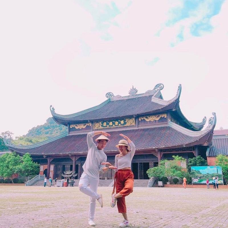 Khám phá các điểm du lịch Ninh Bình tại chùa Bái Đính