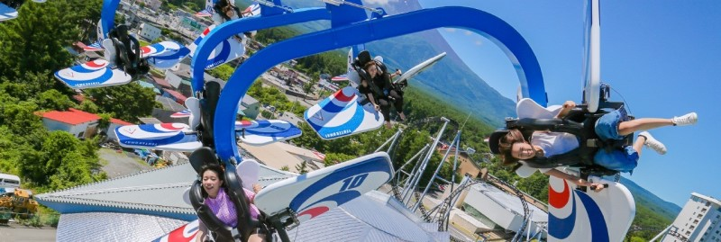Tham gia các trò chơi giải trí tại công viên giải trí Fuji-Q Highland
