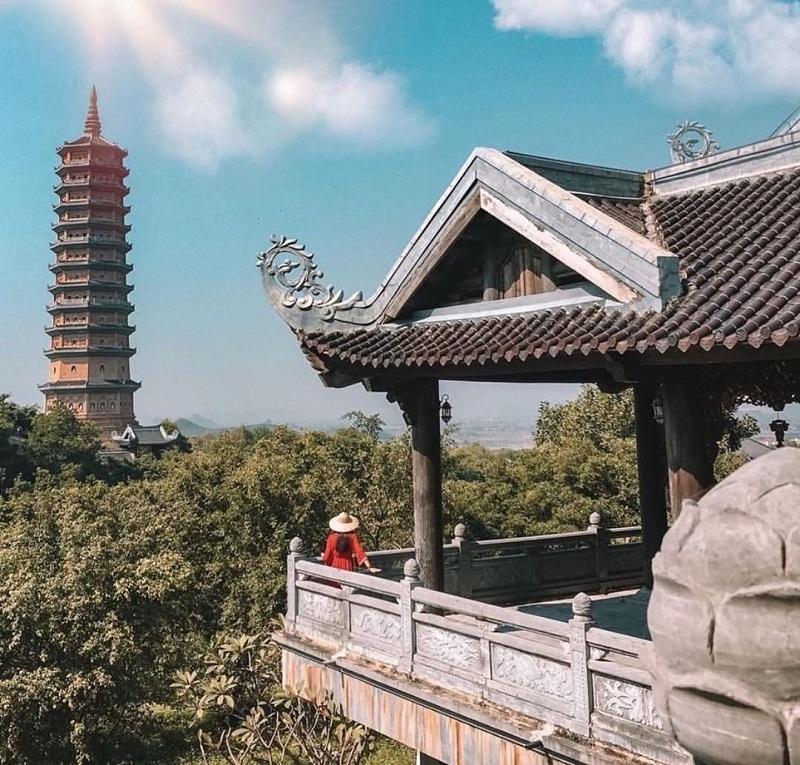 View chùa Bái Đính