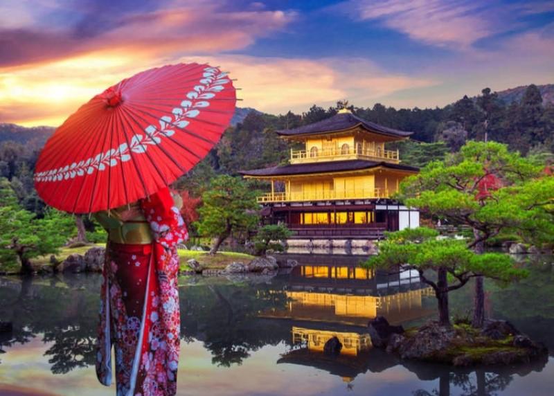 Kết quả hình ảnh cho đền vàng kyoto
