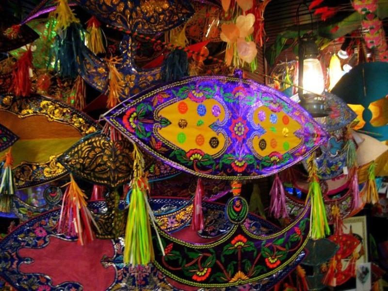 Diều Malaysia truyền thống