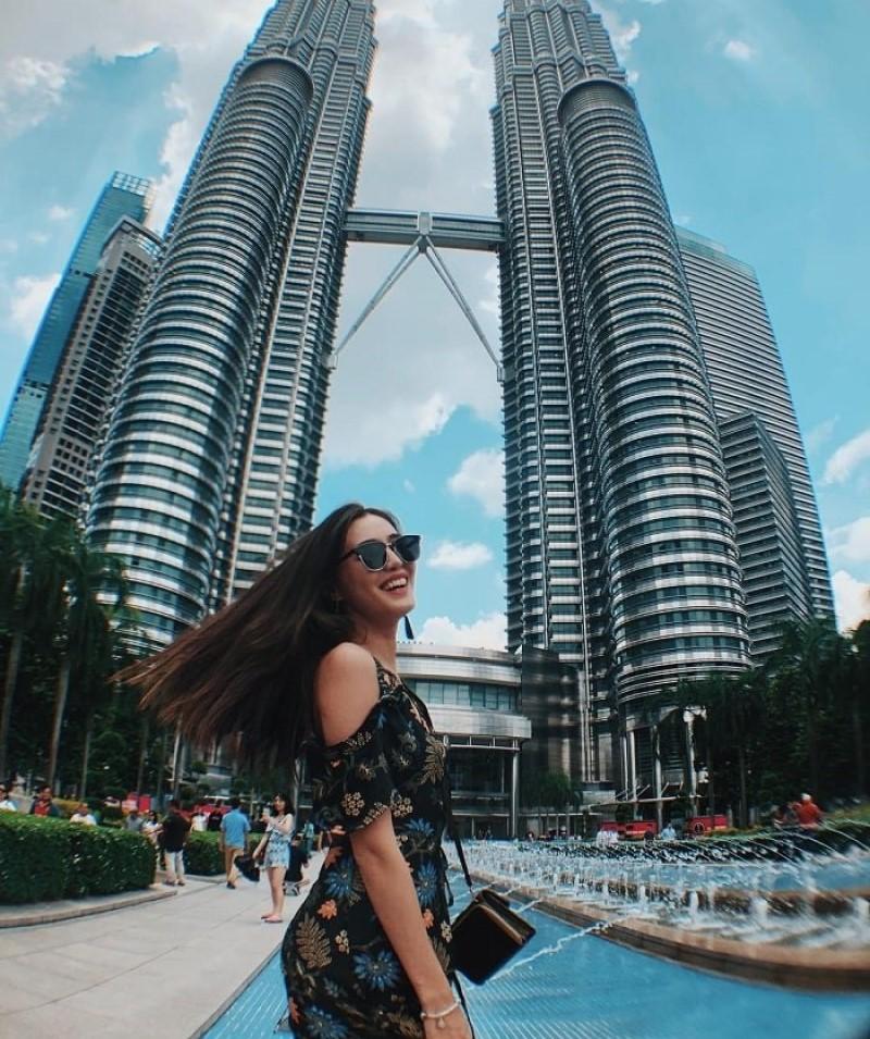 tháp đôi Petronas tại Kuala Lumpur