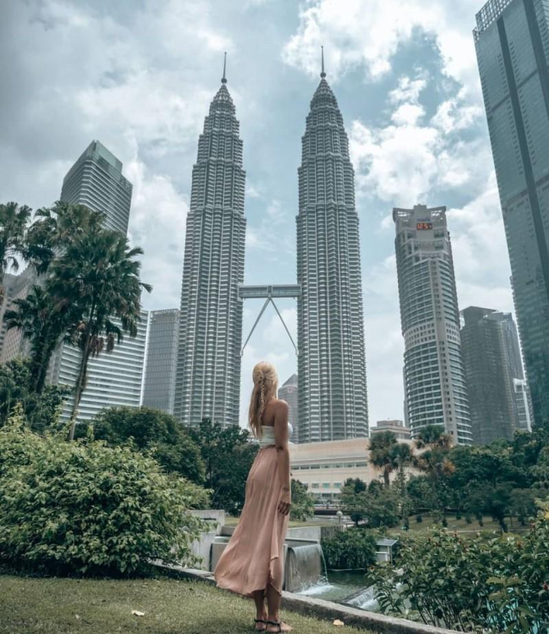 Tòa tháp đôi tại Malaysia