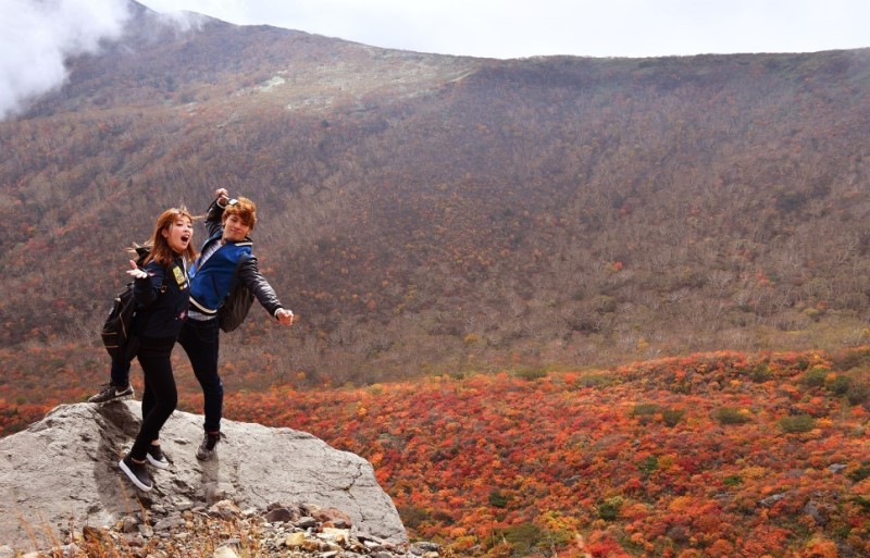 Check in núi Nasu với mùa thu non trẻ