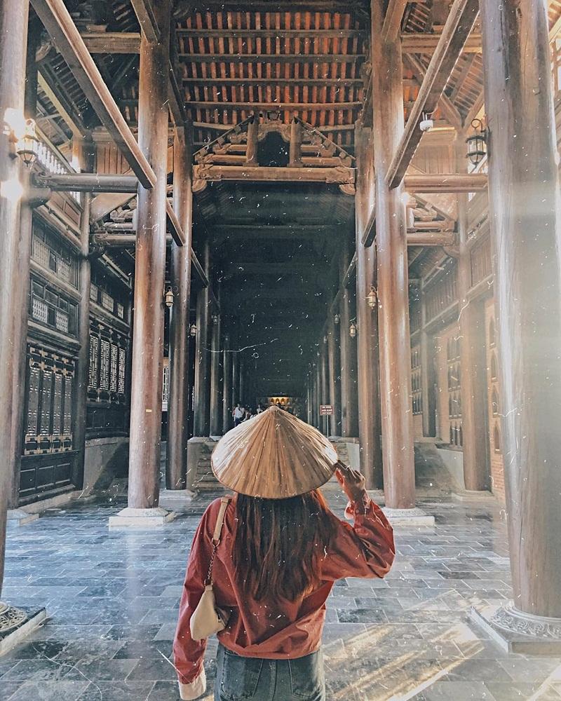 Tham quan vẻ đẹp quần thể kiến trúc chùa
