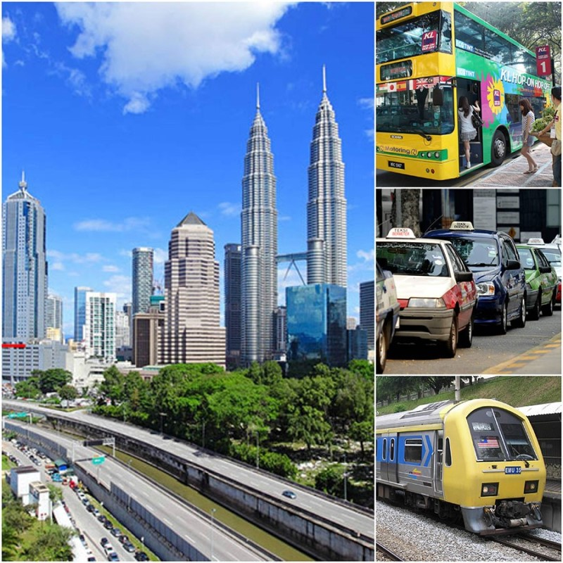 Các phương tiện di chuyển tại Malaysia