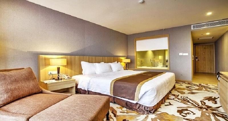Không gian tiện nghi tại hách sạn 4 sao Ninh Bình
