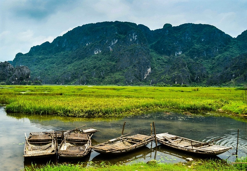 khu du lịch Kênh gà Ninh Bình