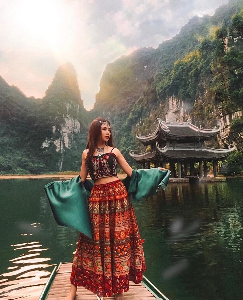 Nhiều góc sống ảo đẹp lung linh tại Ninh Bình