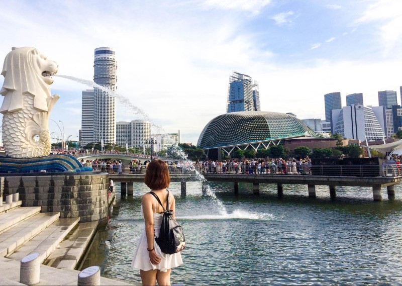 Đài phun nước sư tử tại Malaysia