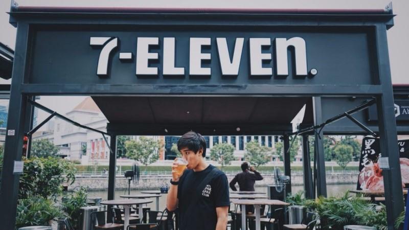 Quán cafe 7 Eleven tại Malaysia