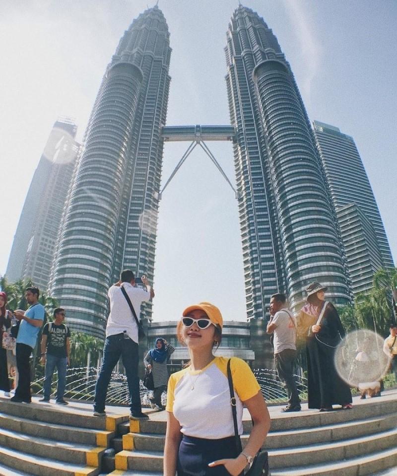 Tòa tháp đôi ở Kuala Lumpur