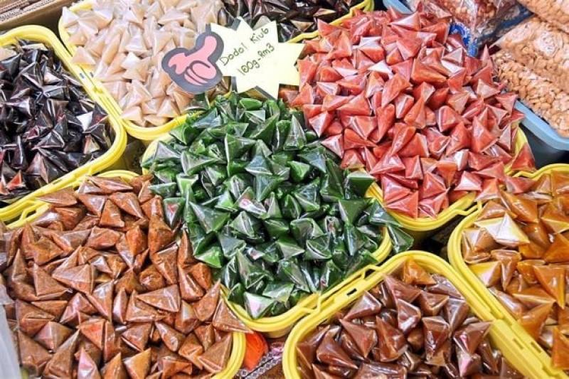 Dodol Malaysia là một loại kẹo ngọt như kẹo bơ cứng